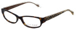 Betsey Johnson Designer Eyeglasses Frisky BJ0175-02 in Espresso 53mm :: Custom Left & Right Lens