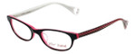 Betsey Johnson Designer Eyeglasses Bond-Street BJ080-01 in Black 52mm :: Rx Single Vision