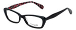 Betsey Johnson Designer Eyeglasses Betseyville BV100-01 in Black 53mm :: Rx Single Vision