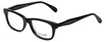 Betsey Johnson Designer Eyeglasses Betseyville BV112-01 in Black 52mm :: Rx Single Vision