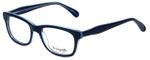 Betsey Johnson Designer Eyeglasses Betseyville BV112-05 in Blocking-Blue 52mm :: Rx Single Vision
