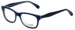Betsey Johnson Designer Eyeglasses Betseyville BV112-05 in Blocking-Blue 52mm :: Rx Bi-Focal
