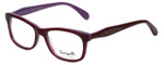 Betsey Johnson Designer Eyeglasses Betseyville BV112-07 in Violet 52mm :: Rx Bi-Focal