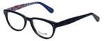 Betsey Johnson Designer Eyeglasses Betseyville BV114-05 in Rose-Blue 52mm :: Rx Bi-Focal