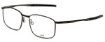 Oakley Designer Eyeglasses Taproom OX3204-0153 in Pewter 53mm :: Custom Left & Right Lens