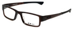 Oakley Designer Eyeglasses Airdrop OX8046-0651 in Rootbeer 51mm :: Custom Left & Right Lens