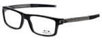Oakley Designer Eyeglasses Currency OX8026-0554 in Black 54mm :: Rx Bi-Focal
