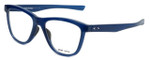 Oakley Designer Eyeglasses Grounded OX8070-0553 in Frosted-Navy 53mm :: Rx Bi-Focal