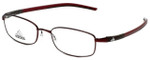 Adidas Designer Eyeglasses a623-40-6055 in Burgundy 52mm :: Custom Left & Right Lens
