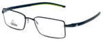 Adidas Designer Eyeglasses a645-40-6059 in Navy-Green 52mm :: Rx Single Vision