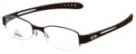 Adidas Designer Eyeglasses a881-40-6050 in Dark Brown 52mm :: Rx Single Vision