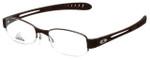 Adidas Designer Eyeglasses a881-40-6050 in Dark Brown 52mm :: Progressive