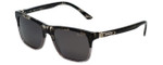 Chopard Designer Sunglasses SCH151-793P in Black-Fade  with Grey Lens