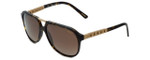 Chopard Designer Sunglasses SCH179-738P in Tortoise with Brown Lens