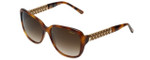 Chopard Designer Sunglasses SCH184S-0752 in Horn with Brown-Gradient Lens