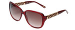 Chopard Designer Sunglasses SCH184S-0954 in Red with Brown-Gradient Lens