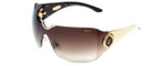 Chopard Designer Sunglasses SCH883S-0300 in Brown with Brown-Gradient Lens