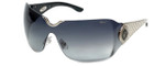 Chopard Designer Sunglasses SCH883S-0579 in Black with Grey-Gradient Lens