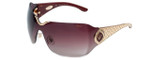 Chopard Designer Sunglasses SCH883S-08FC in Burgundy with Burgundy-Gradient Lens