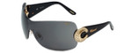 Chopard Designer Sunglasses SCH939S-300X in Black with Grey Lens
