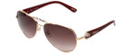 Chopard Designer Sunglasses SCH997S-08FC in Gold with Brown-Gradient Lens