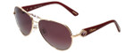 Chopard Designer Sunglasses SCH997S-8FCP in Gold with Violet Lens