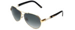 Chopard Designer Sunglasses SCHA59S-300F in Gold with Grey-Gradient Lens
