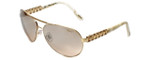 Chopard Designer Sunglasses SCHA63S-H16X in Gold with Brown-Gradient Lens