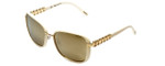 Chopard Designer Sunglasses SCHA64S-300G in Pearl with Gold-Mirror Lens