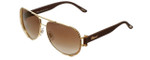 Chopard Designer Sunglasses SCHA66S-300X in Gold with Brown-Gradient Lens