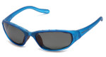 Native Designer Sunglasses Throttle in Glacier Frost with Gray Lens