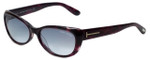 Tom-Ford Designer Sunglasses Sebastian TF232-83T in Lavender-Havana with Grey-Gradient Lens