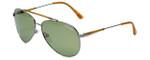 Tom-Ford Designer Sunglasses Rick TF378-14N in Gold-Havana with Green Lens