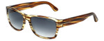 Tom-Ford Designer Sunglasses Mason TF445-50B in Striped-Brown with Grey-Gradient Lens