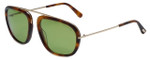 Tom-Ford Designer Sunglasses Johnson TF453-52N in Havana with G-15 Lens