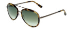 Tom-Ford Designer Sunglasses Andy TF468-53P in Light-Tortoise with Green-Gradient Lens