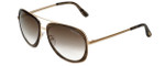 Tom-Ford Designer Sunglasses Sam TF469-50C in Striped-Brown with Brown-Gradient Lens