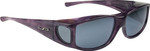 Jonathan Paul® Fitovers Eyewear Large Jett in Purple-Haze & Gray