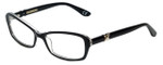 Corinne McCormack Designer Eyeglasses Bleecker-BLK in Black 53mm :: Rx Bi-Focal