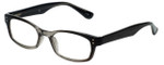 Corinne McCormack Designer Reading Glasses Channing in Black-Grey 47mm