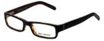 Marc Hunter Designer Eyeglasses MH7302-BKT in Matte Black/Tortoise 45mm :: Progressive