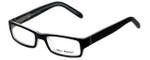 Marc Hunter Designer Reading Glasses MH7302-BKC in Matte Black/Crystal 45mm