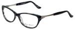 Valerie Spencer Designer Eyeglasses VS9319-MID in Mid Black 53mm :: Custom Left & Right Lens