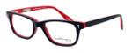 Ernest Hemingway Designer Eyeglasses H4617 (Small Size) in Black-Red 48mm :: Rx Bi-Focal