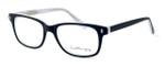 Ernest Hemingway Designer Eyeglasses H4617 in Matte-Black-White 52mm :: Progressive