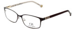 Carolina Herrera Designer Eyeglasses VHE065-0H98 in Shiny Black Brown 53mm :: Rx Single Vision