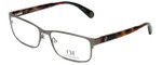 Carolina Herrera Designer Eyeglasses VHE074-0H41 in Gunmetal Tortoise 56mm :: Rx Single Vision