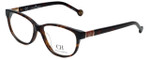 Carolina Herrera Designer Eyeglasses VHE590-0909 in Shiny Havana 53mm :: Progressive