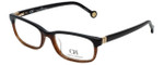 Carolina Herrera Designer Eyeglasses VHE625-0D84 in Brown 53mm :: Progressive