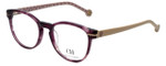 Carolina Herrera Designer Eyeglasses VHE675-06XD in Crystal Violet 50mm :: Progressive